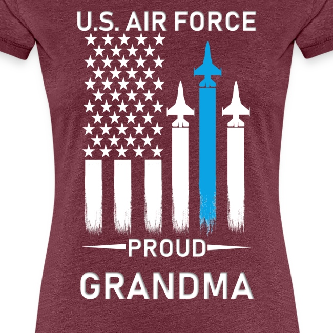 Proud Air Force Grandma