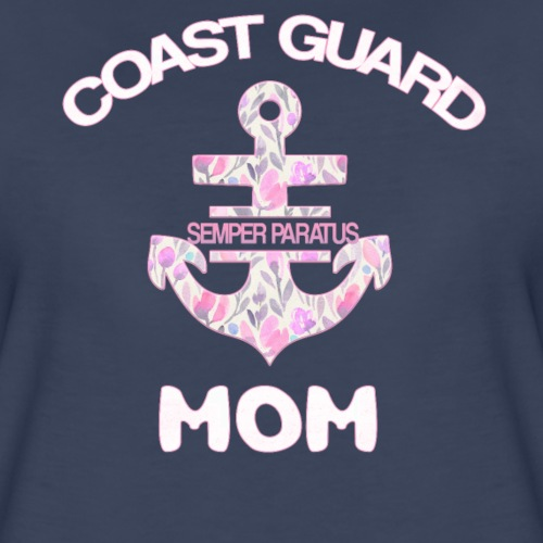 coast guard mom proud american coast guard mom - Women's Premium T-Shirt