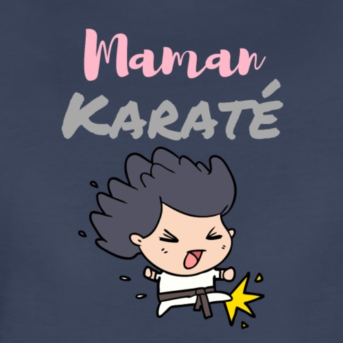 Maman karate - Women's Premium T-Shirt