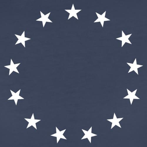 13 Stars Patriotic Circle - Women's Premium T-Shirt