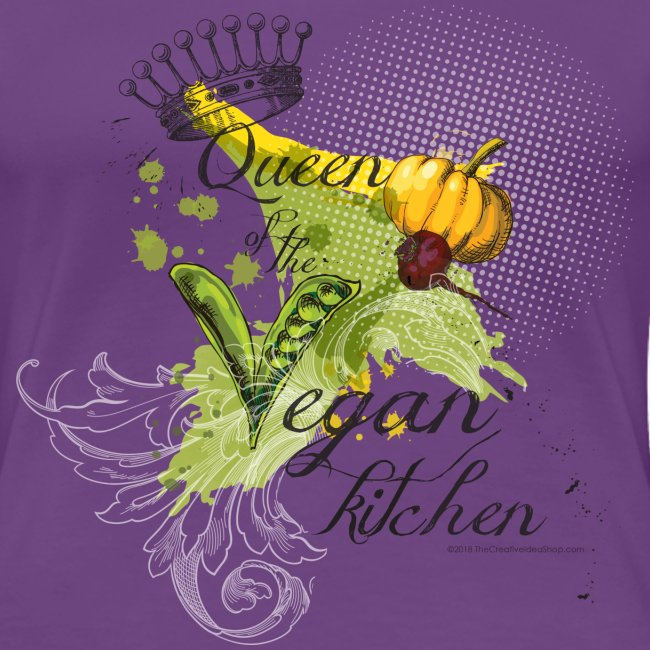 Queen vegan kitchen