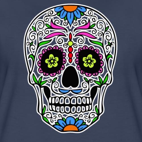 RED DOT APPAREL - Sugar Skull - Women's Premium T-Shirt