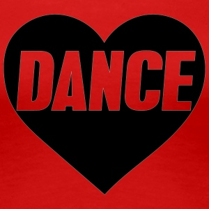 danceheart - Women's Premium T-Shirt