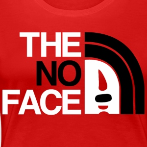 The No Face - Women's Premium T-Shirt