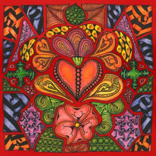 Hearts'n'Flowers - Women's Premium T-Shirt