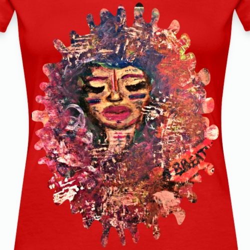 Just Breathe - Women's Premium T-Shirt