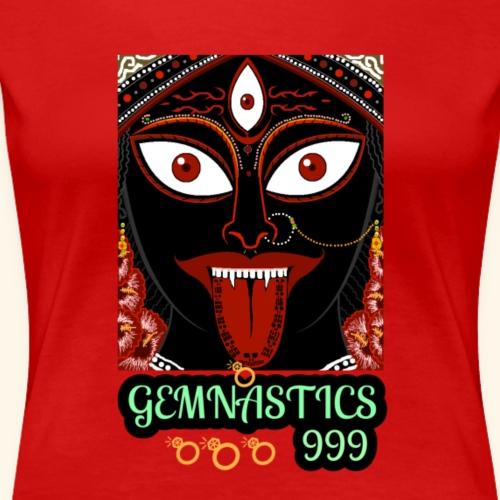 The face of Kali - Women's Premium T-Shirt