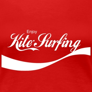 Enjoy Kite Surfing - Women's Premium T-Shirt