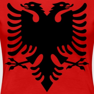 Albanian Eagle design - Women's Premium T-Shirt