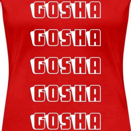 GOSHA x5 - Women's Premium T-Shirt