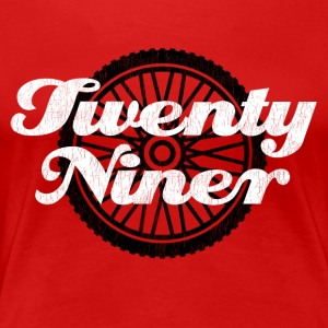 Twenty Niner. Mountain Biking. - Women's Premium T-Shirt