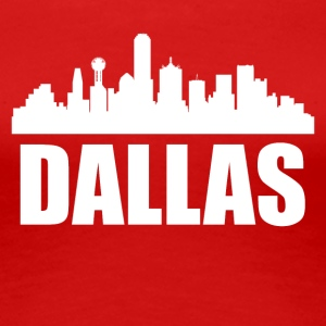 Dallas TX Skyline - Women's Premium T-Shirt