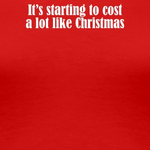 Christmas Cost - Women's Premium T-Shirt