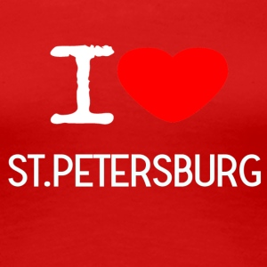 I LOVE ST.PETERSBURG - Women's Premium T-Shirt