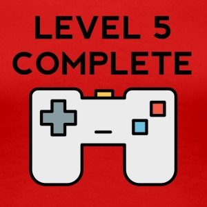 Level 5 Complete 5th Birthday - Women's Premium T-Shirt