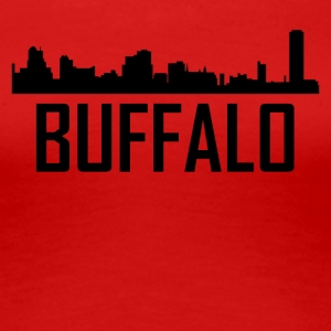 Buffalo New York City Skyline - Women's Premium T-Shirt