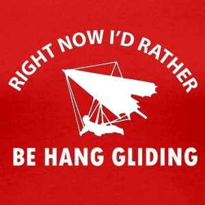 hang gliding designs - Women's Premium T-Shirt
