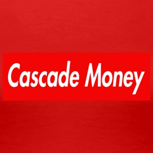 CASCADE MONEY - Women's Premium T-Shirt
