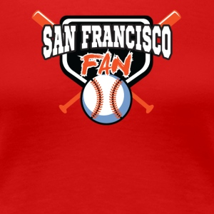 SF BASEBALL FAN SHIRT - Women's Premium T-Shirt