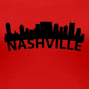 Arc Skyline Of Nashville TN - Women's Premium T-Shirt
