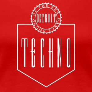 Bargain The New Dance Sound Detroit Techno - Women's Premium T-Shirt