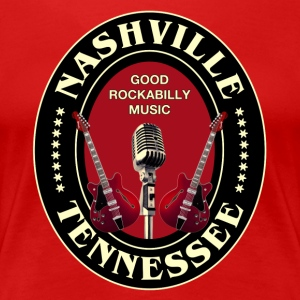 nashville good rockabilly - Women's Premium T-Shirt