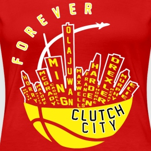 Clutch City Forever - Women's Premium T-Shirt
