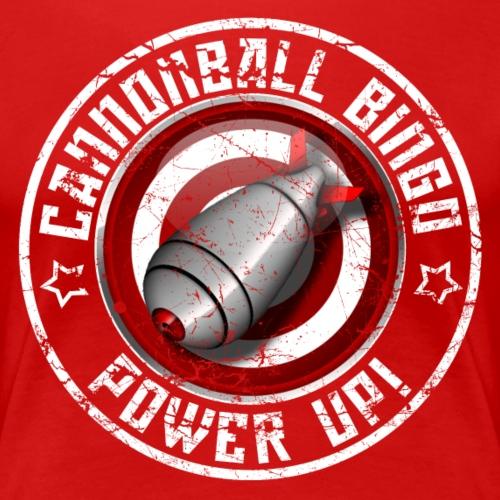 Vintage Daubs Away Power-Up Tee - Women's Premium T-Shirt