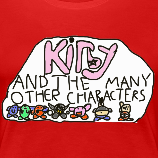 Kirby and the many other characters
