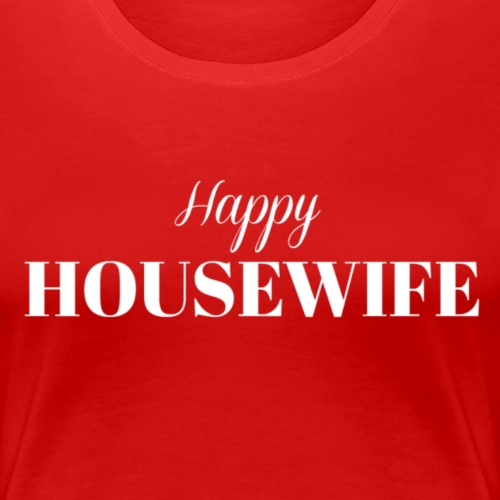Happy Housewife in White