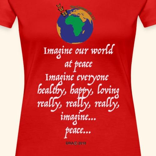 ImagineWH - Women's Premium T-Shirt