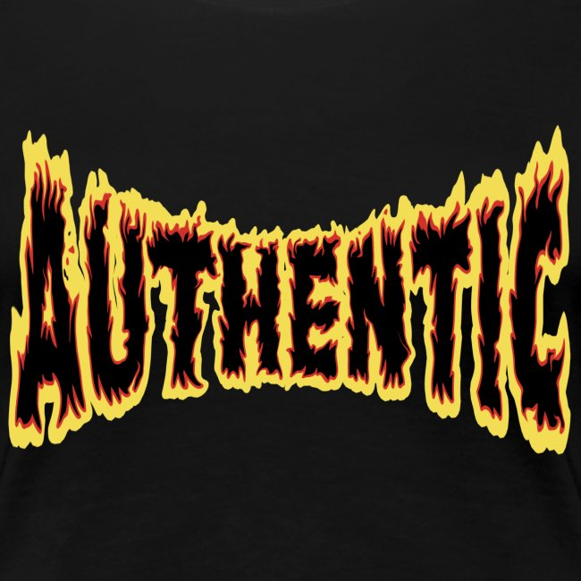 authentic on fire