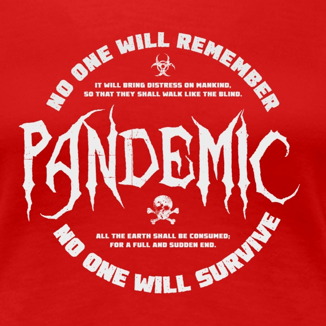 Pandemic - meaning or no meaning