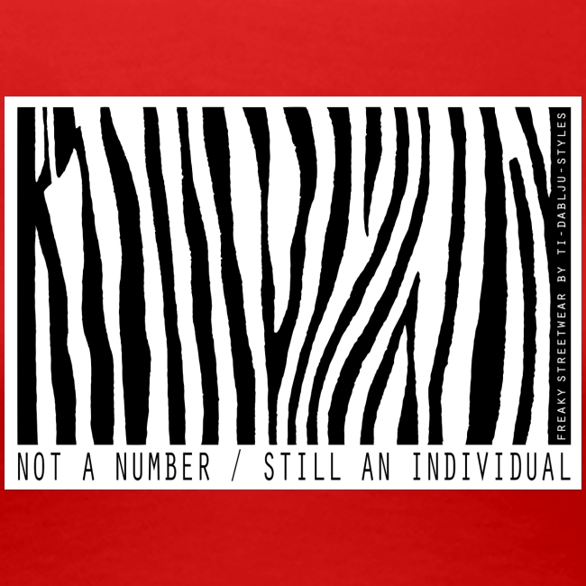 Not a number - still an individual