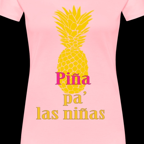 pineapple for the girls - Women's Premium T-Shirt