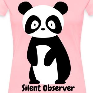 Silent Observer - Women's Premium T-Shirt