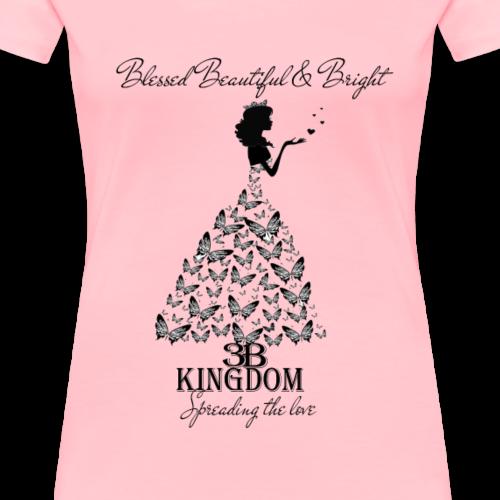 3bkingdom Spread the Love - Women's Premium T-Shirt