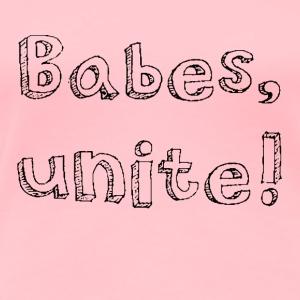 BABES UNITE in black - Women's Premium T-Shirt