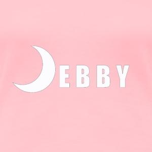 DEBBY - WHITE LOGO - Women's Premium T-Shirt