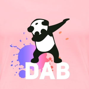 DAB panda dabbing football touchdown mooving dance - Women's Premium T-Shirt
