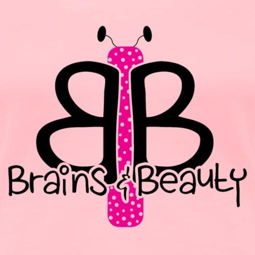 BB Logo (for light colored shirts) - Women's Premium T-Shirt