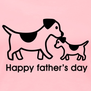 Dog Father's day - Women's Premium T-Shirt