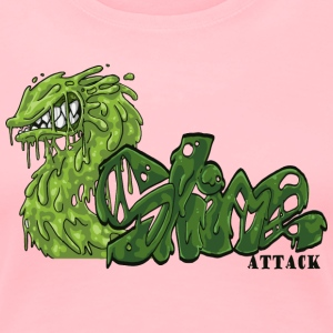 Slime Attack - Women's Premium T-Shirt