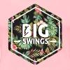 Big Swings Floral Design - Women's Premium T-Shirt