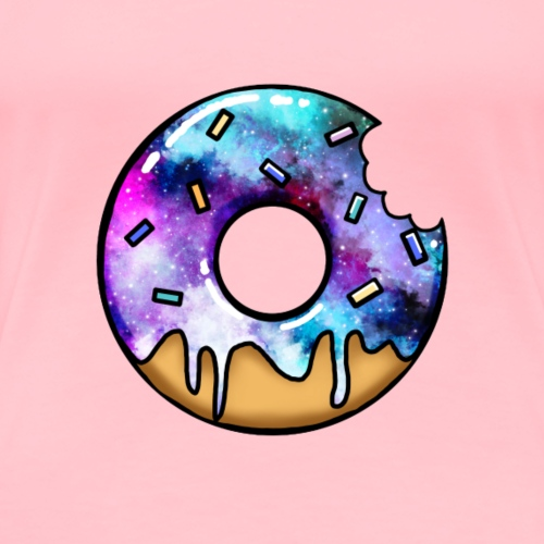 Tasty Spacey Pastry - Women's Premium T-Shirt