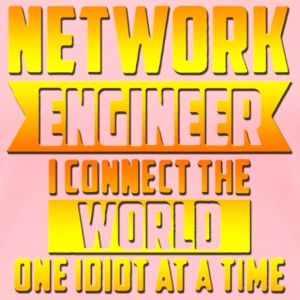 Network Engineer I connect the - Women's Premium T-Shirt