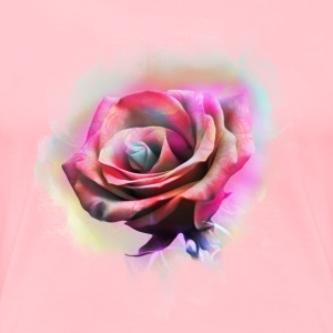 Watercolor flower - Women's Premium T-Shirt