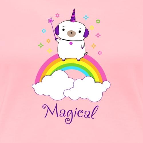 Magical Pugicorn - Women's Premium T-Shirt