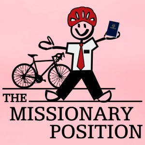The Missionary Position (Light) - Women's Premium T-Shirt