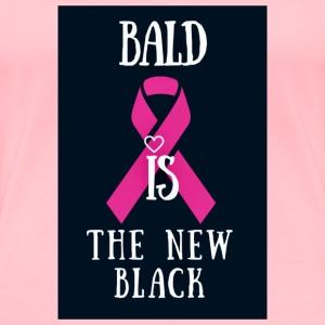 Bald Is The New Black - Women's Premium T-Shirt